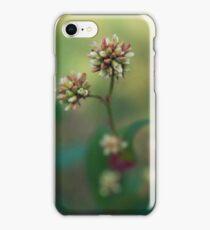 Close Up White Portrait iPhone Case/Skin