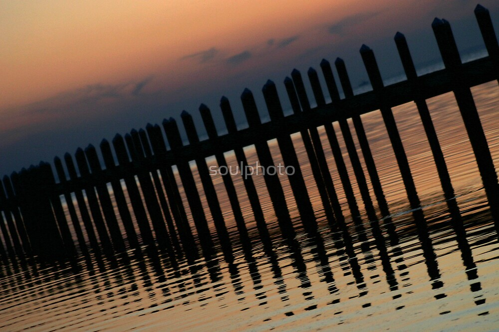 Port St. Joe Sunset by soulphoto