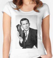 Get Smart Women's Fitted Scoop T-Shirt
