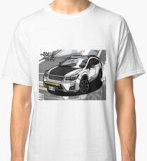 Subie Crosstrek Background Classic T-Shirt