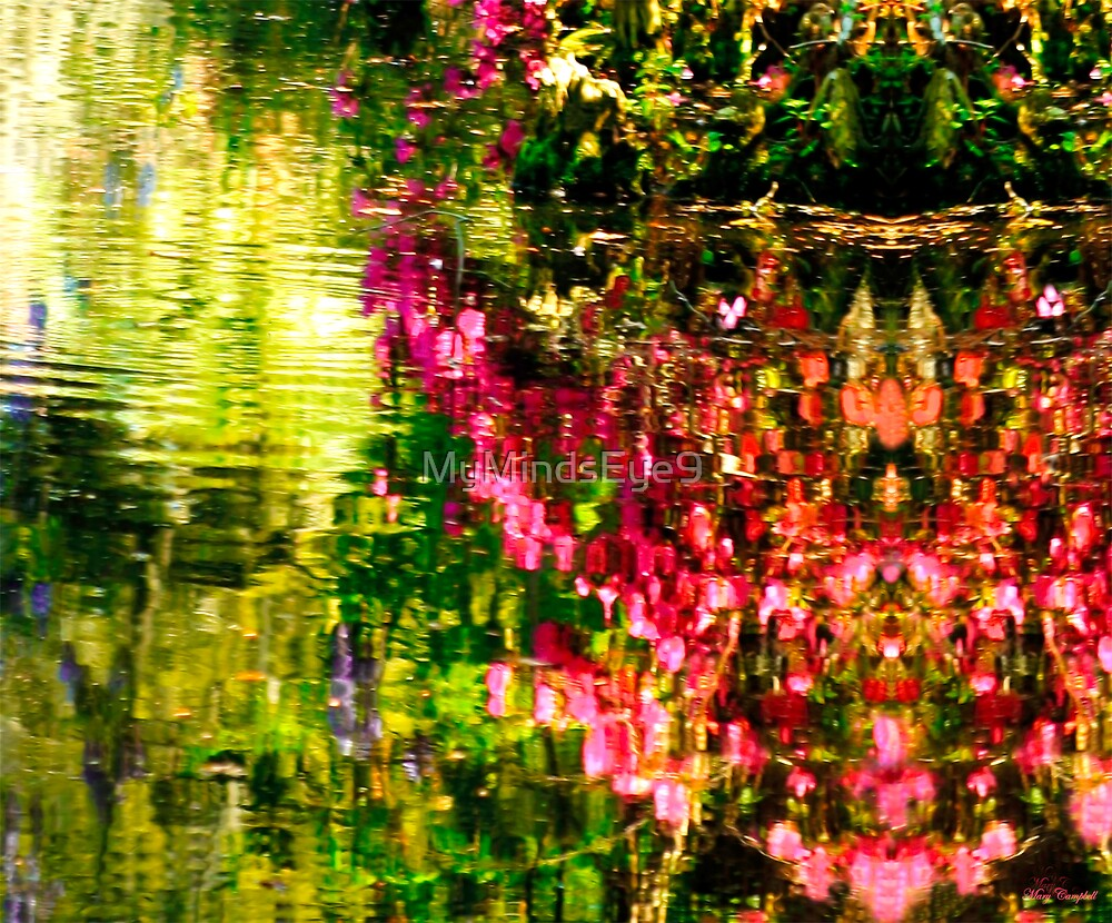 Springs Reflecting Waters by Mary Campbell