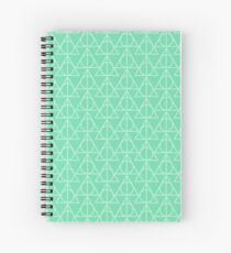 Mint Pattern Spiral Notebook