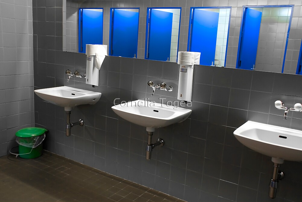 public restroom by Cornelia Togea
