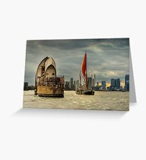 Icons of the Thames London Greeting Card
