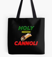 Heiliges Cannoli - lustiger italienischer Pastöse Nachtisch Tasche