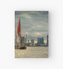 Icons of the Thames London Hardcover Journal