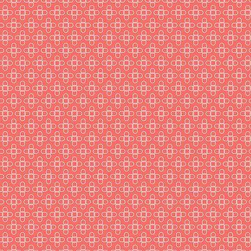 Minimal flower pattern by TIERRAdesigner