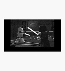 LEGO DUEL ON BESPIN Photographic Print