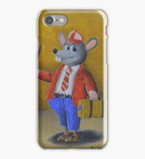College Rat iPhone Case/Skin