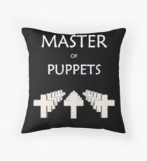 Master of puppets Throw Pillow