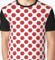 red blocks Graphic T-Shirt