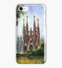 Sagrada familia - Barcelona iPhone Case/Skin