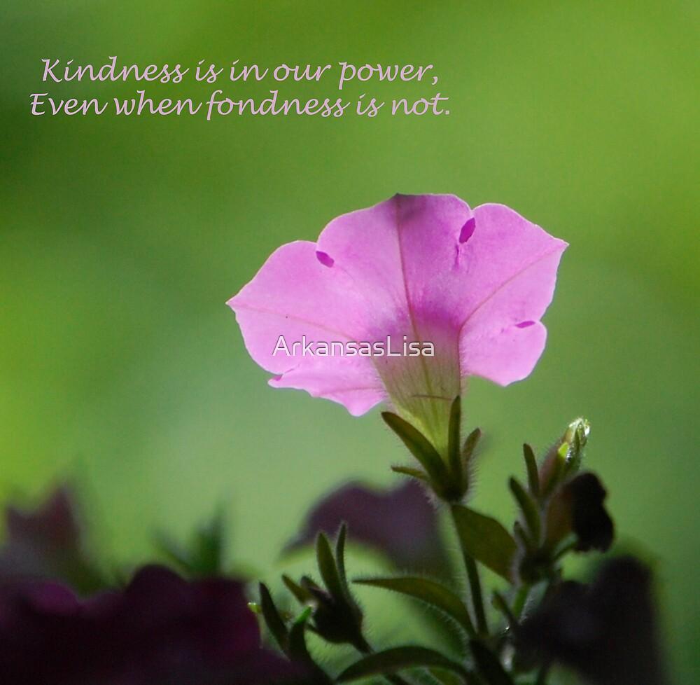 Kindness by ArkansasLisa