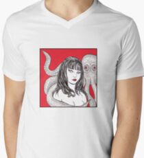 In love with an octopus, red T-Shirt
