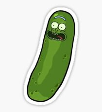 i'm pickle riiiick! Sticker