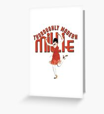 Thoroughly Modern Millie Greeting Card