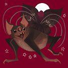 Familiar - Vampire Bat by straungewunder