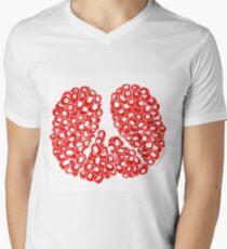 Peace Sign Pomegranate Passion T-Shirt