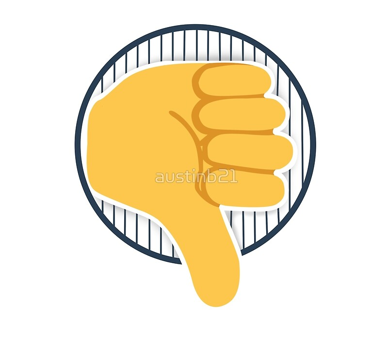 Yankees thumbs down\
