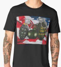 grenades  Men's Premium T-Shirt