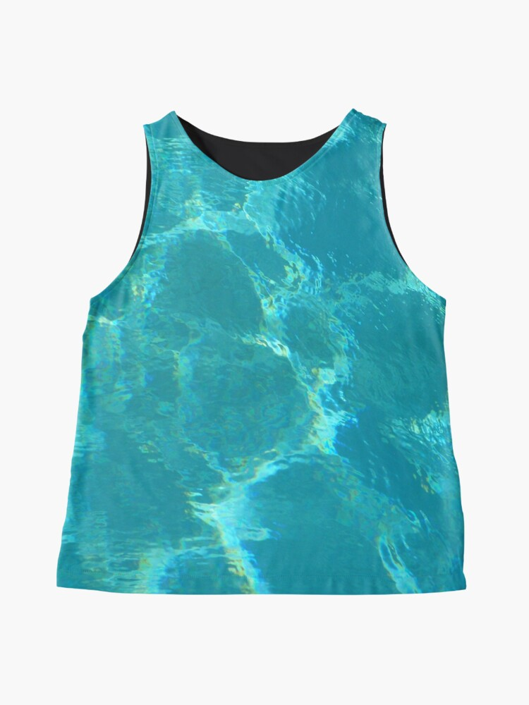 Alternate view of Turquoise Blue Water Sleeveless Top