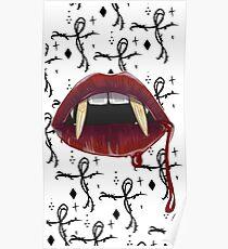Vampire kiss Poster