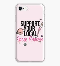 Support Your Local Space Princess  iPhone Case/Skin