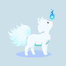 Kawaii fantasy animals - Kyuubi no Kitsune by SilveryDreams