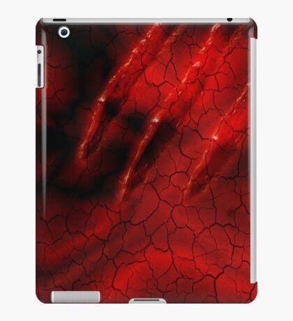 Red Ghoulish Claw iPhone & iPad iPad Case/Skin