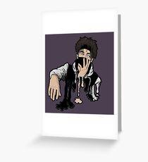 Scarlxrd paint Greeting Card
