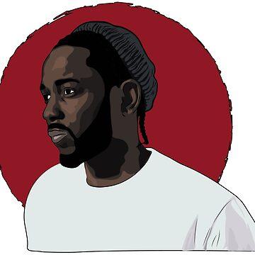 Kendrick Lamar - kung fu kenny by ScoxtMerch