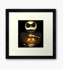 Pumpkin King Magic Framed Print