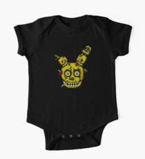 Five Nights at Freddy's 3 - Pixel art - SpringTrap One Piece - Short Sleeve