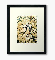 leaffy Framed Print