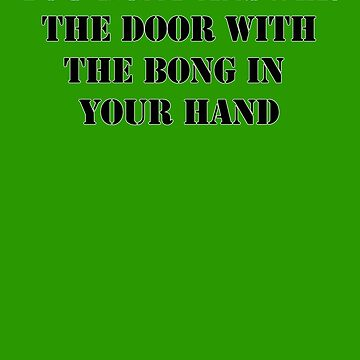 Dont answer the door by timtopping