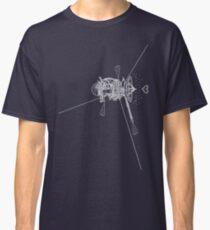 Cassini (blanc sur fond sombre) Classic T-Shirt