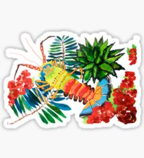 Tropical Sticker