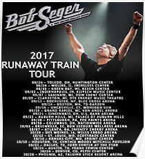 seger bob runaway train tour gembok Poster