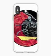 Death Skull On Hell iPhone Case