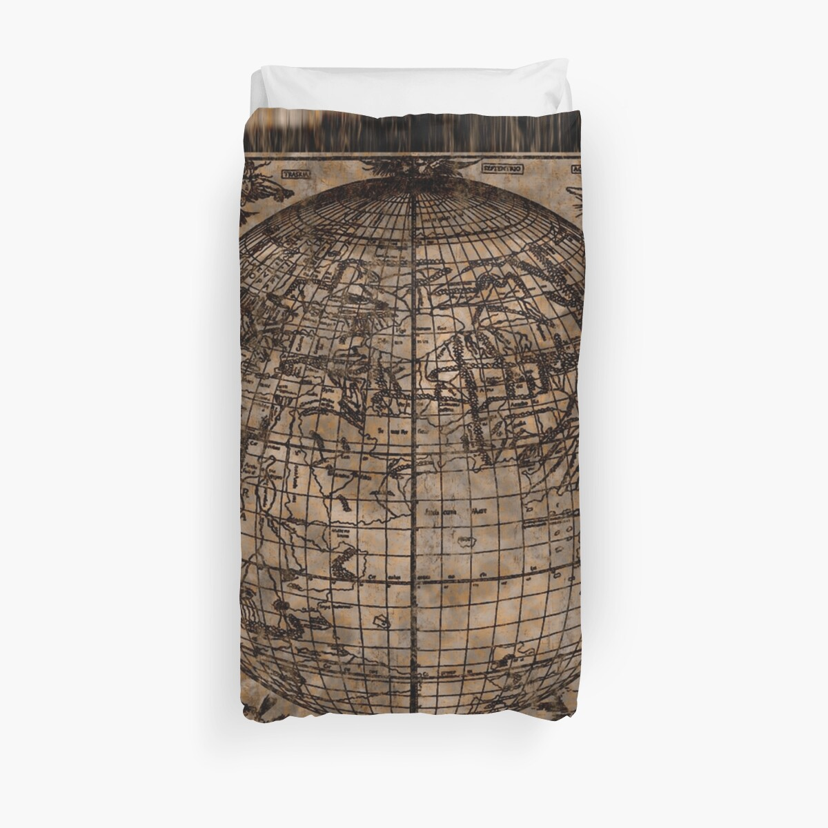 Vintage old world map duvet covers by natureprints redbubble vintage old world map by natureprints gumiabroncs Image collections