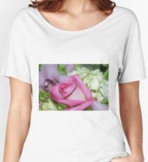 Perfect Love; Woodside Florist, Whittier, CA USA Women's Relaxed Fit T-Shirt