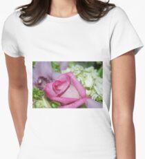 Perfect Love; Woodside Florist, Whittier, CA USA Women's Fitted T-Shirt