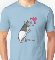 Hooded rat love (topear) Unisex T-Shirt