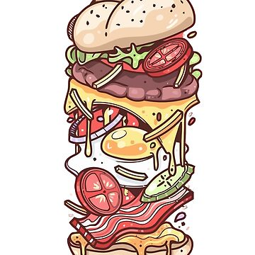 Burger Monster by Himmathrely