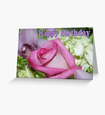 Happy Birthday; Lei Hedger Photography Greeting Card