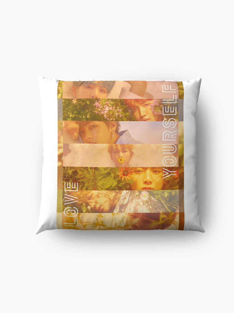 Bts love yourself her o version floor pillows by yoshfridays bts love yourself her o version by yoshfridays solutioingenieria Images