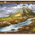 The Lonely Mountain by BohemianWeasel