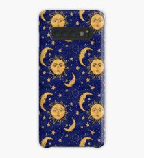 Vintage moon and sun stars celestial Case/Skin for Samsung Galaxy