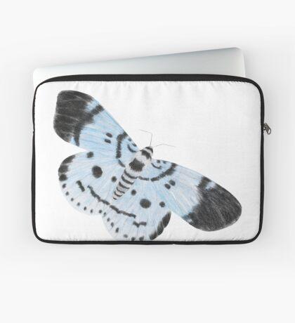 Blue Tiger Moth Laptop Sleeve