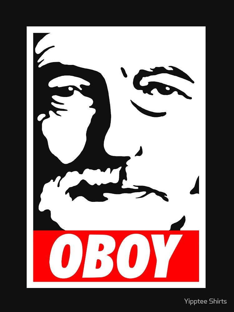 Jeremy Corbyn OBOY  by dumbshirts